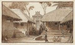 Village Northern Bali, 1906