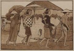 Four Balinese, Bali (1910)