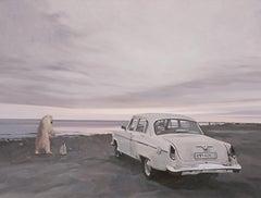 The Bear & Penguin Drive a Retro Car to See the Sea