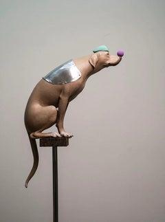 Sculpture: The Dog Series - My Companion no.11