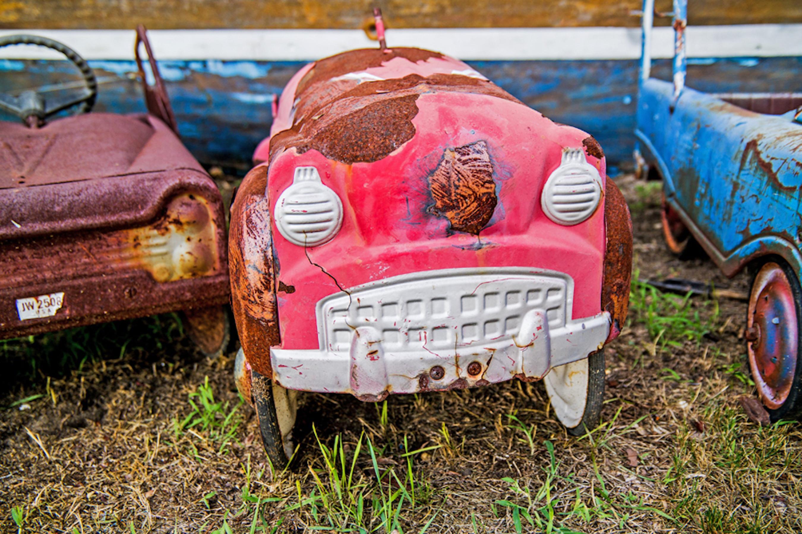 Peddle Car Red