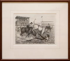 """""""Introduction to Rodeo"""" by Janet Turner, Lithograph, 1941"""