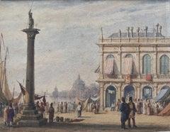 Circle of Edward Pritchett, The Piazzetta, St Mark's Square, Venice