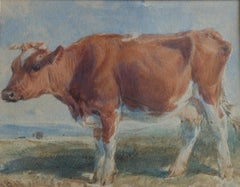 Henry Brittan Willis, Study of an Ayrshire cow