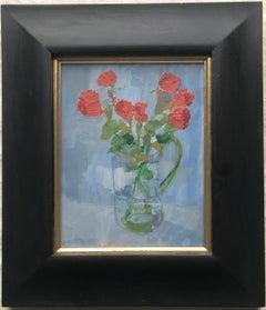 Robert Innes, Impressionist Still life of Roses