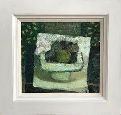 Sandy Murphy, Scottish Modernist artist, still life of apples