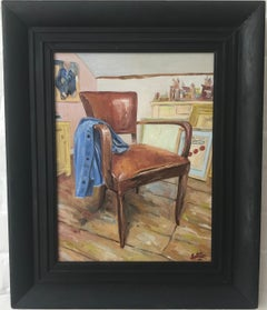 Alan Latter, Studio Chair, interior scene