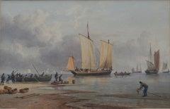 John Cantiloe Joy, 19th Century seascape, maritime interest