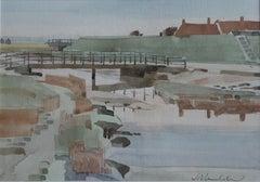 James Bruce-Lockhart, The kissing bridge, Walberswick, Suffolk