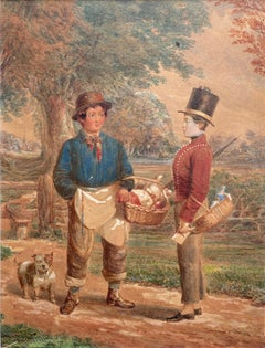 Joseph Barnes, The meeting of a doctor's messenger and a butcher's boy