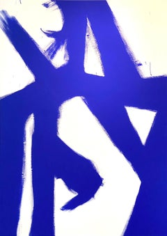 Abstract Yves klein Blue 1