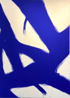 Abstract Yves klein Blue 2