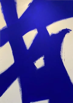 Abstract Yves klein Blue 3