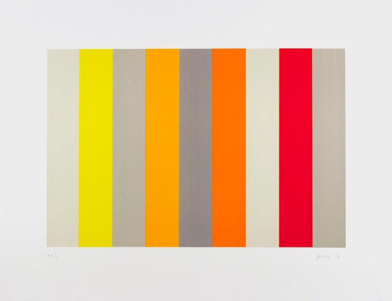 Gabriele Evertz Abstract Print - A-Chromatics 1