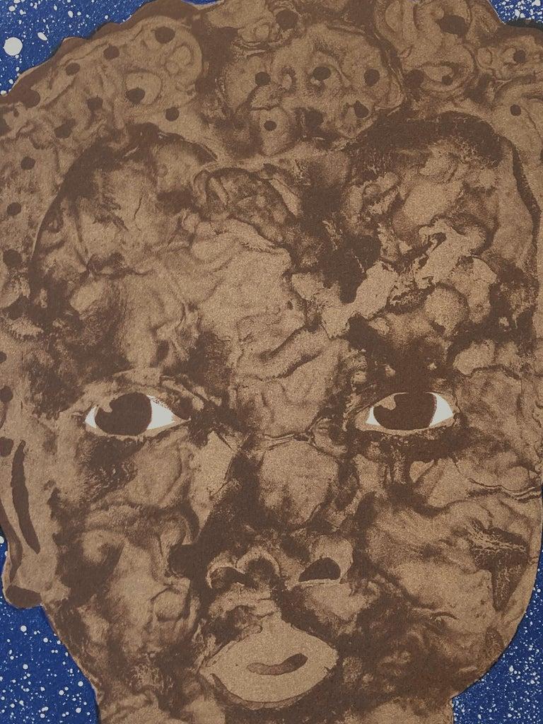 Black Boy Hope II - Contemporary Print by Jennifer Mack Watkins