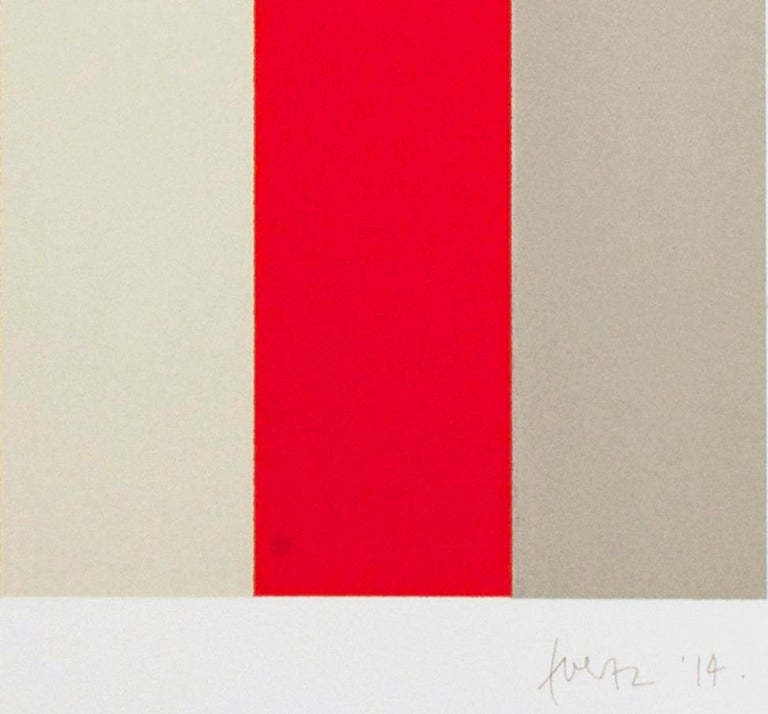 A-Chromatics 1 - Abstract Print by Gabriele Evertz