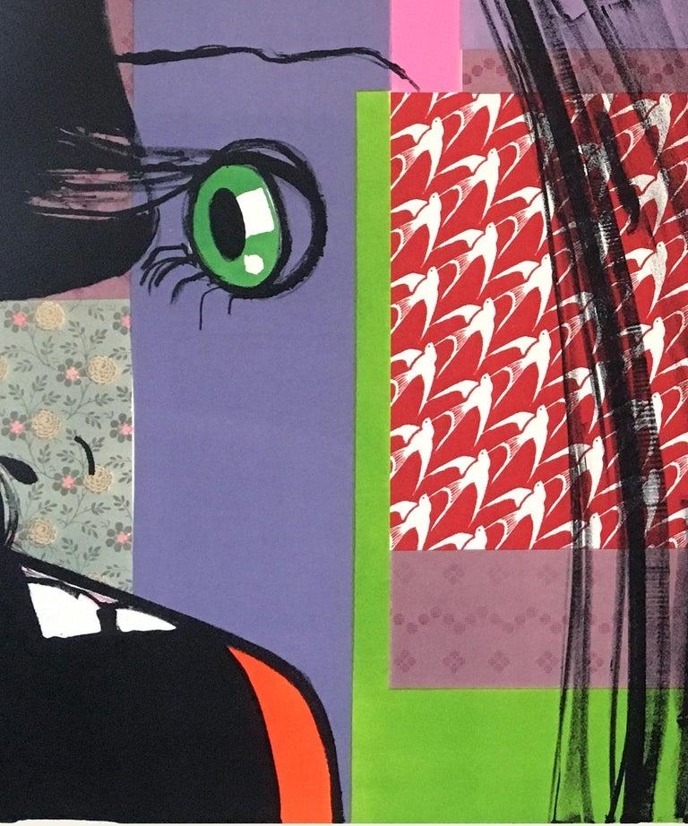 Screamer - Print by Ellen Berkenblit