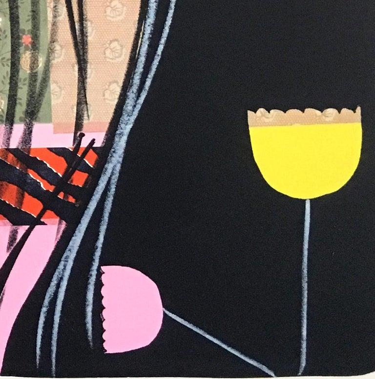 Screamer - Contemporary Print by Ellen Berkenblit