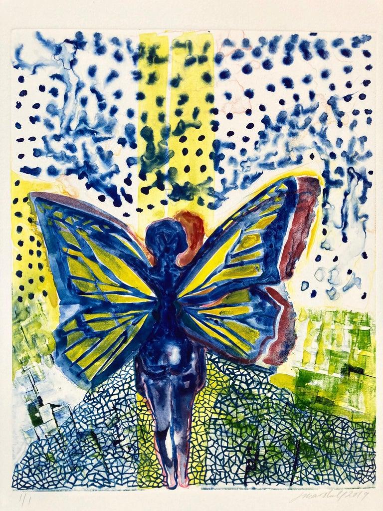I, Butterfly - Print by Jennifer Marshall