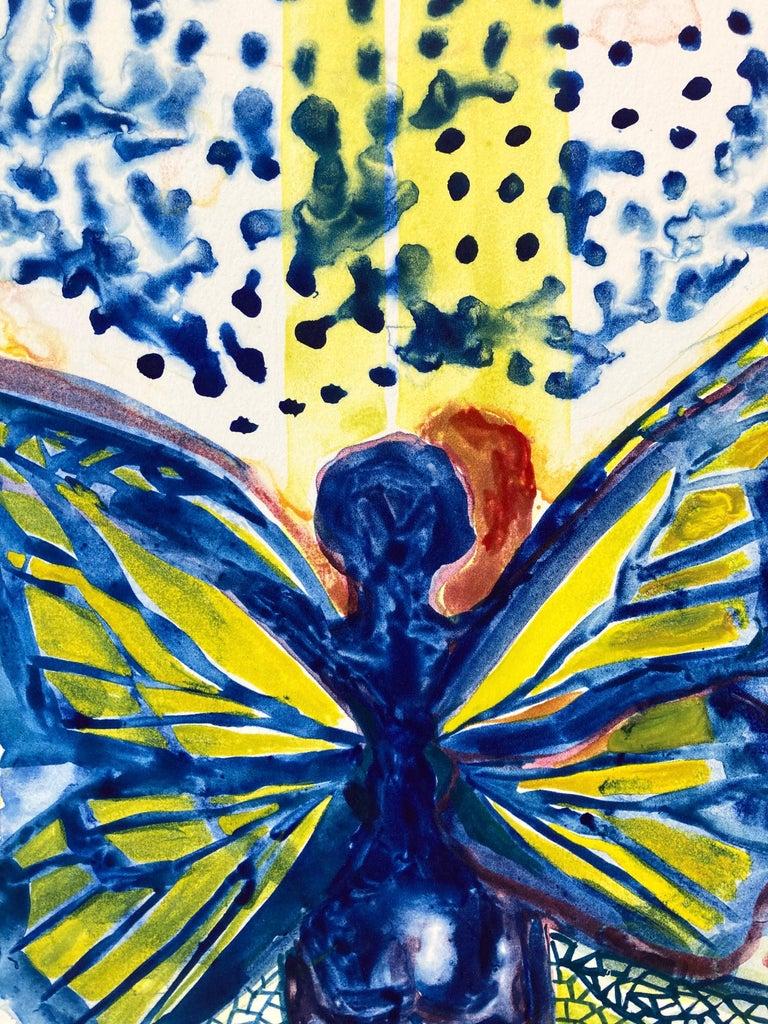I, Butterfly - Contemporary Print by Jennifer Marshall