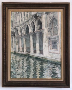 Venice Watercolor Post-Impressionism Ei Ichi Saito 20th Century