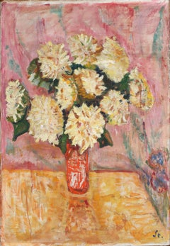 Expressionist Painting by George Alfred Stockburger in Pink and