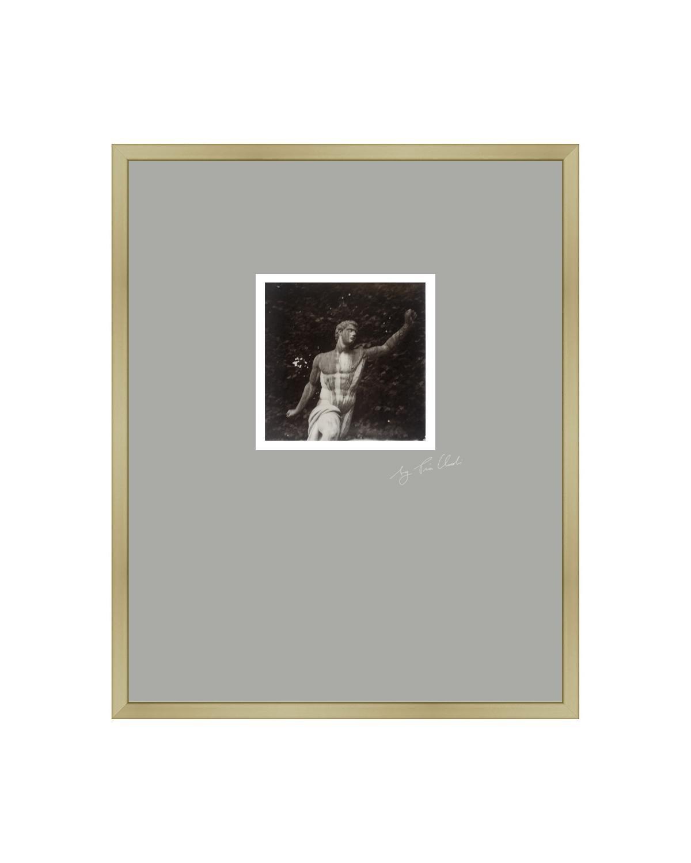 Mirabell Moments - Contemporary Black & White Analog Polaroid Photograph