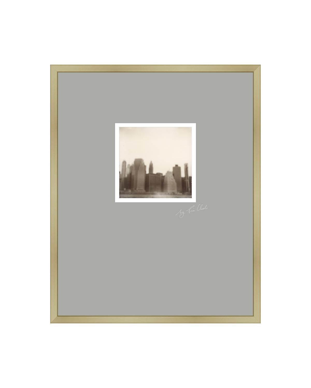 New York II - Contemporary Landscape Polaroid Original Photograph