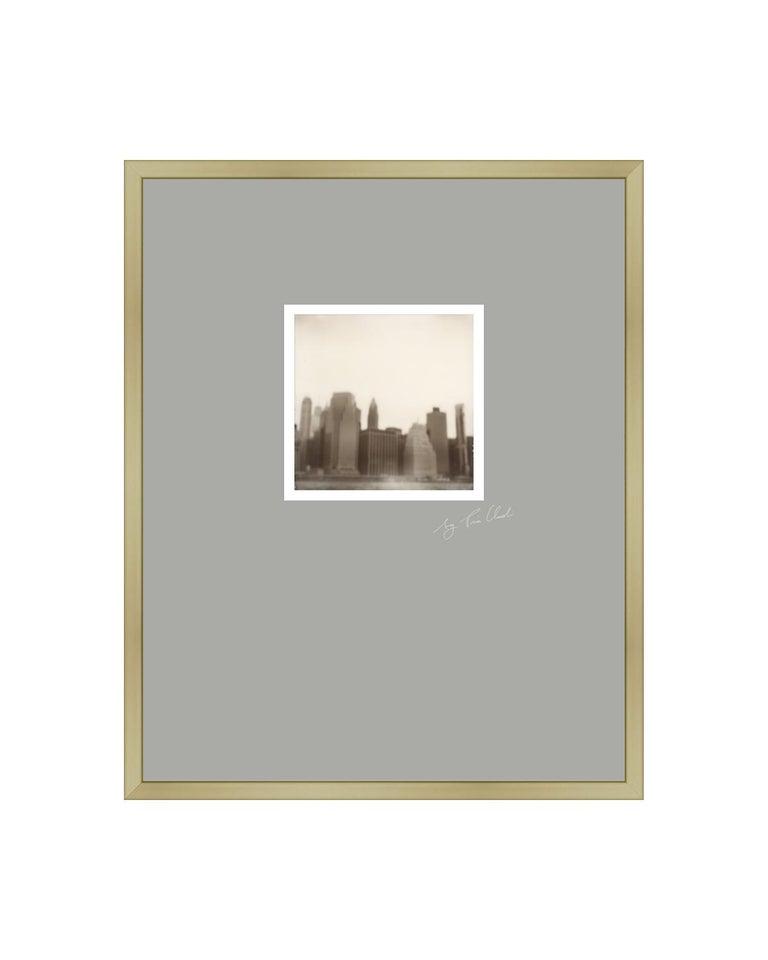 Pia Clodi Landscape Photograph - New York II - Contemporary Landscape Polaroid Original Photograph