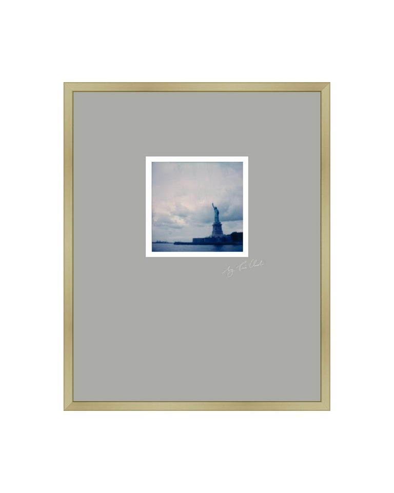 Pia Clodi Landscape Photograph - New York IV - Contemporary Landscape Polaroid Original Photograph