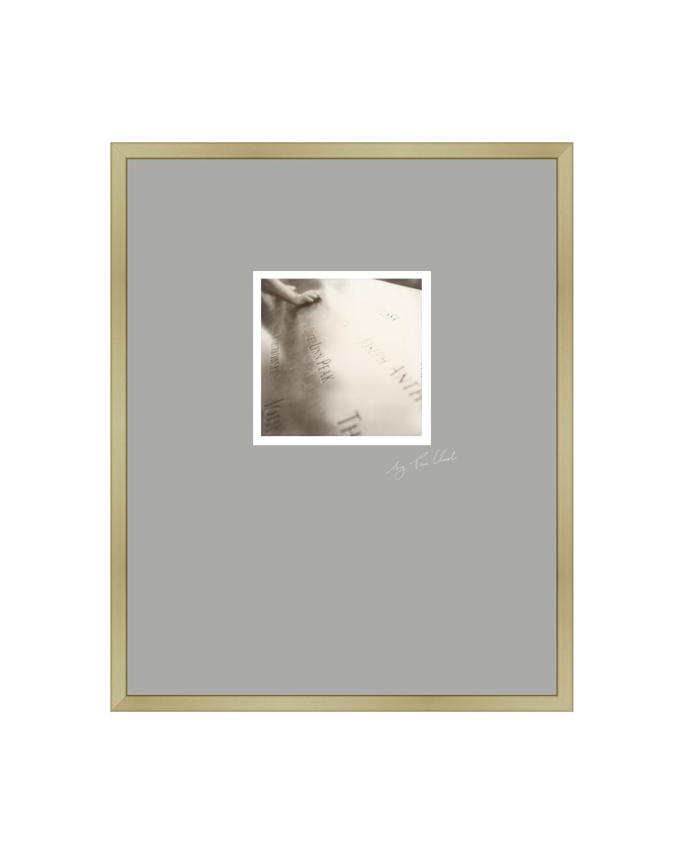 New York VI - 21st Century Contemporary Original Polaroid Photograph Framed