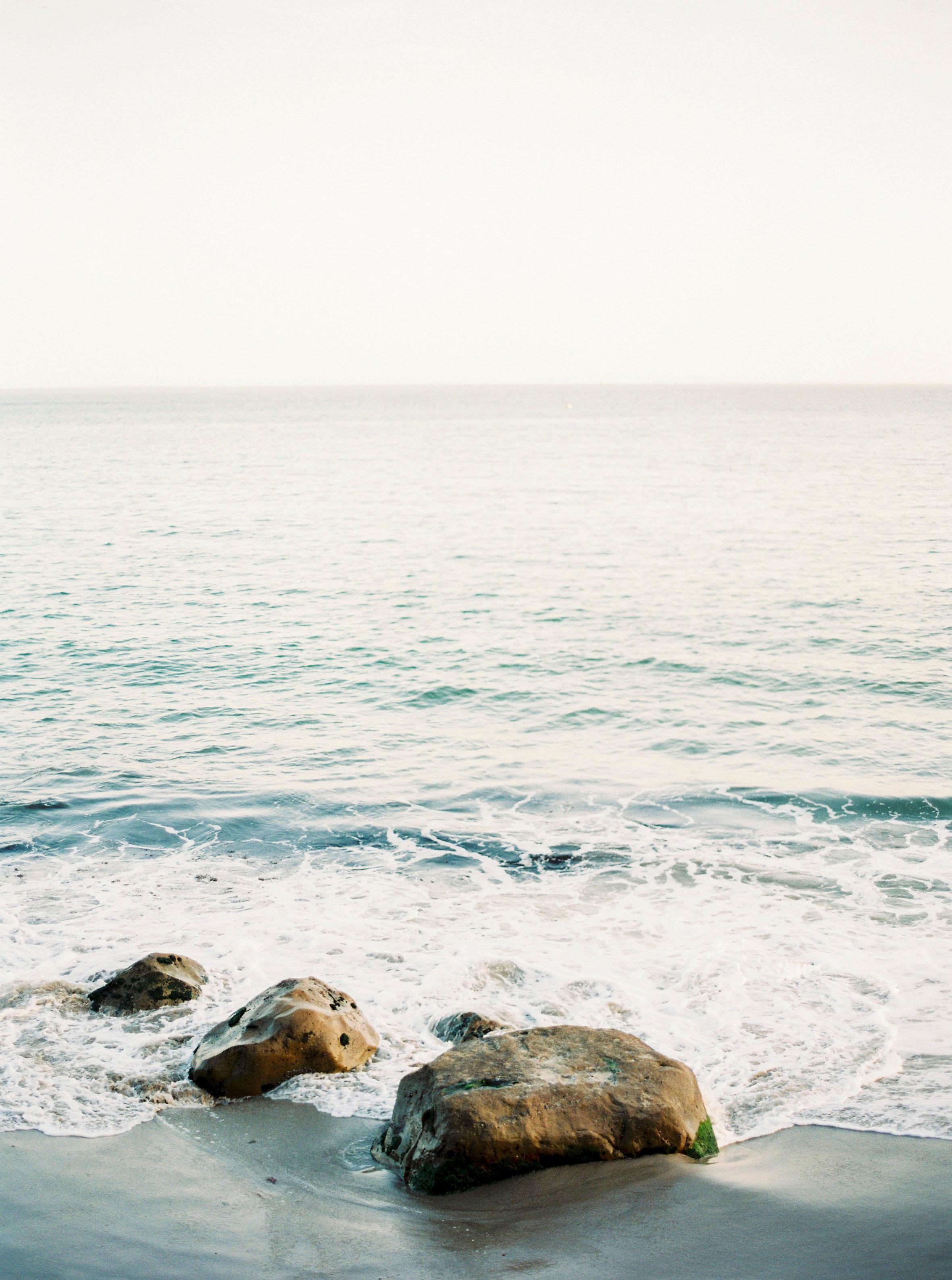 Malibu Shore - 21st Century Contemporary Color Photograph by Pia Clodi