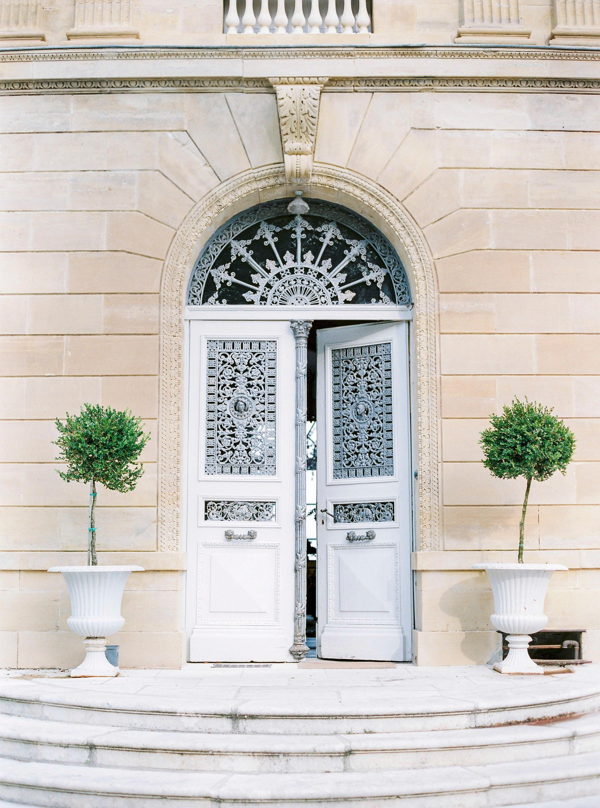 Chateau Entrance - 21st Century Contemporary Color Photograph by Pia Clodi