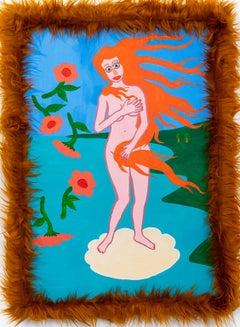 Venus 6 - 21st Century Contemporary Mixed Media Painting - Irony