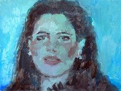 Monika - 21st Century Contemporary Oil Painting