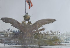 Royal Eagle — Joseph Zbukvic b. 1952 (Watercolour, Realist) 2012