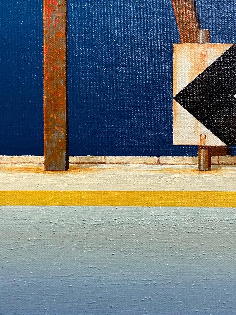 Timeless Highway — Richard Kulma b. 1959 (Realist, Pop, Surrealist) Oil 2015 For Sale 3