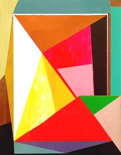 Divide and Rule 1 - 21st Century Abstract Contemporary Painting Colorful Joy