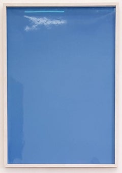 Shadows on Paper - 21st Century Abstract Color Photography Edition Blue