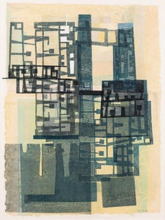 The Space Between II - Abstract Print on Paper