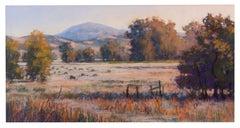 Delta Grazing - Pastel Landscape Painting of Cattle Contemporary Impressionistic