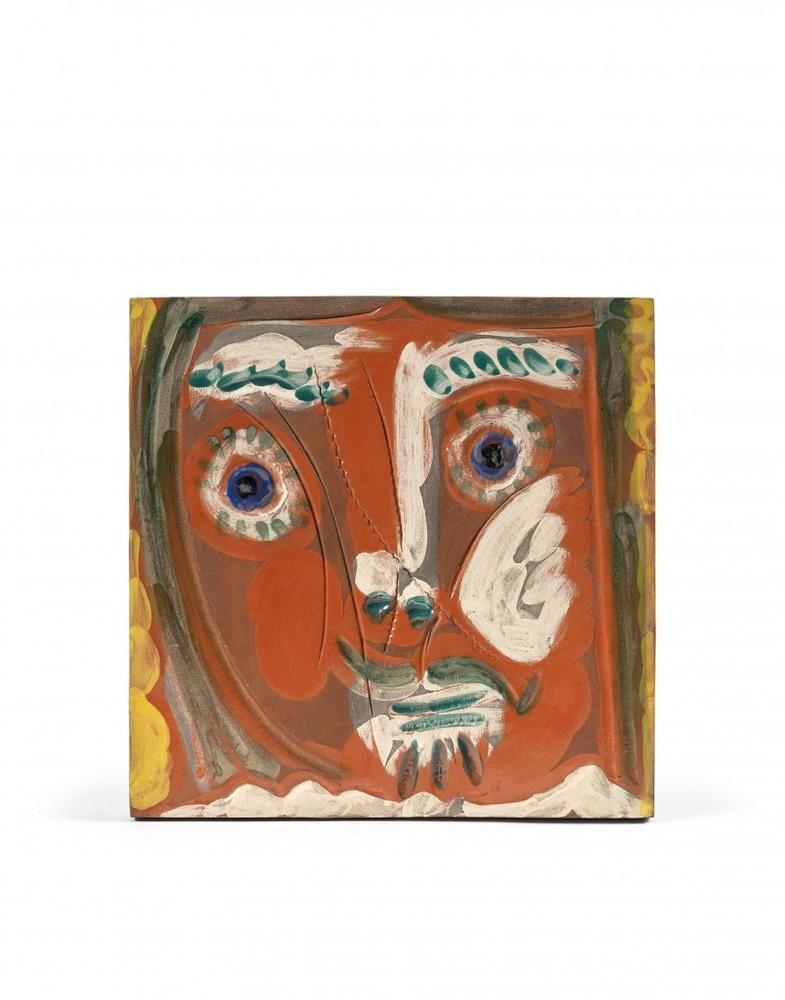 Visage de femme Pomone, Pablo Picasso, 1960's, Edition, Ceramic, Design