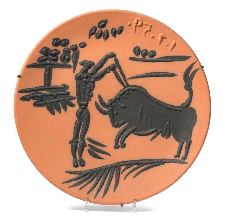 Corrida Scenes, Pablo Picasso, Set, Ceramics, Design, Art, Sculpture, Postwar For Sale 2