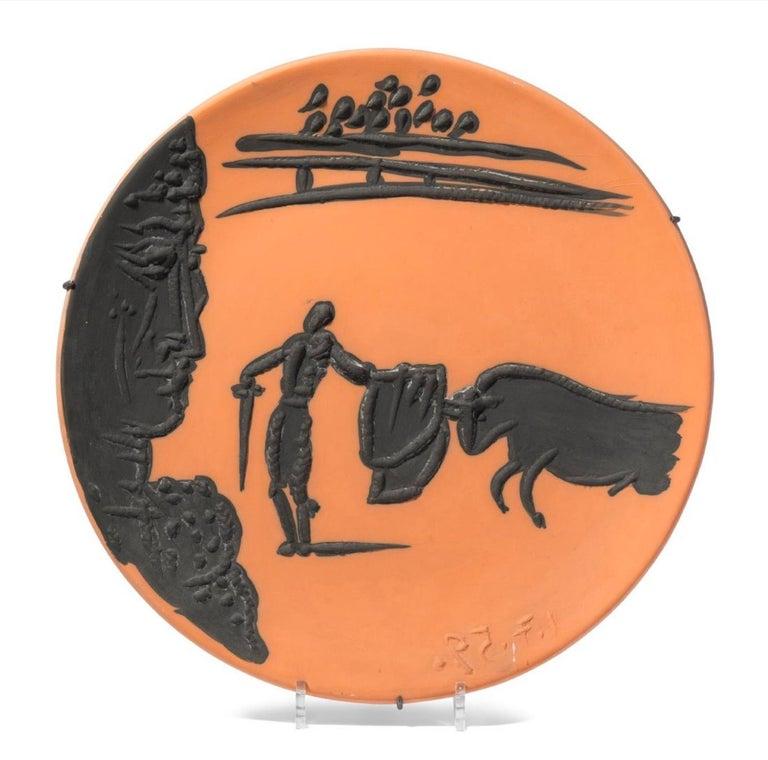 Corrida Scenes, Pablo Picasso, Set, Ceramics, Design, Art, Sculpture, Postwar For Sale 5