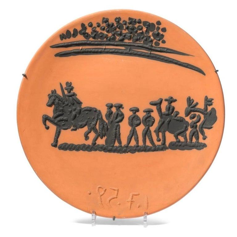 Corrida Scenes, Pablo Picasso, Set, Ceramics, Design, Art, Sculpture, Postwar For Sale 4