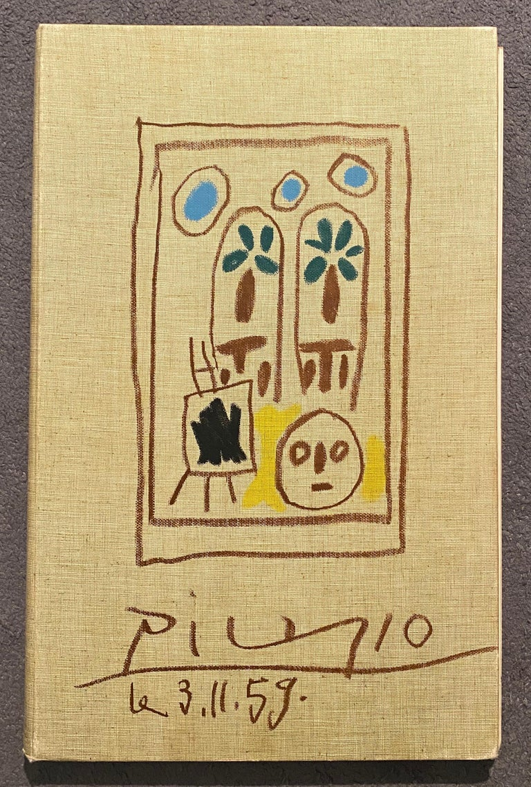 Tête de faune, Pablo Picasso, work on paper, 1960's, Portrait, Naif, Pencil For Sale 1