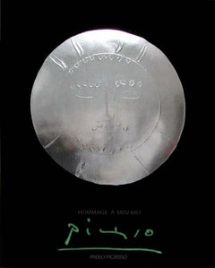 Hommage à Mozart, 2000, Silver Print, Edition, Pablo Picasso, Silver