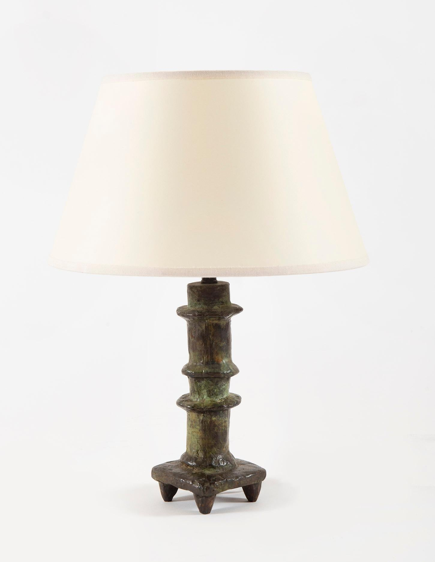 Lamp Petit Bougeoir, Diego Giacometti, 1960's, Design, Decorative Art, Bronze