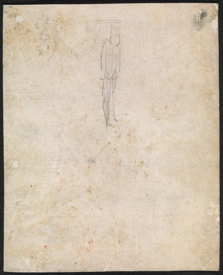 Eighteenth century Old Master drawing - Apollo destroying Niobe's children - Old Masters Art by John Hamilton Mortimer