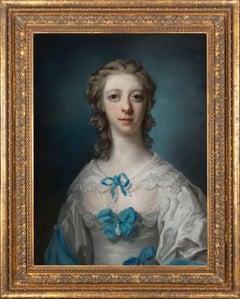 18th century pastel portrait of Anne Burges